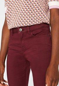 Esprit - SUPERSTRETCH - Jeans Skinny Fit - garnet red - 3