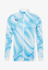 Puma - Training jacket - puma white/bleu azur - 6
