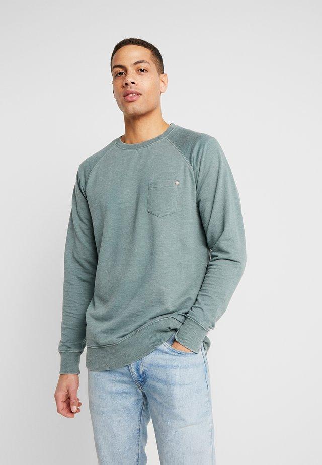 HOWARD CREW - Sweatshirt - huntergree
