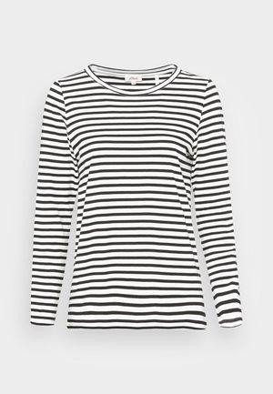 Top sdlouhým rukávem - black stripe