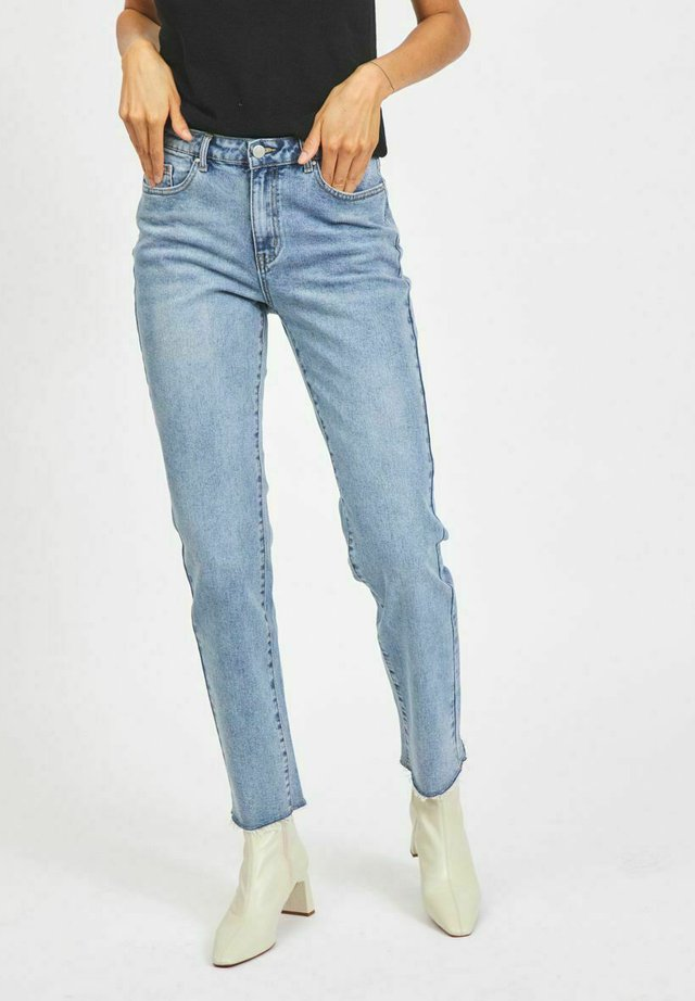 Jeans a sigaretta - light blue denim