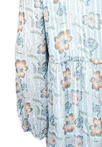 Zizzi - FLORAL PRINT  - Day dress - light blue - 6