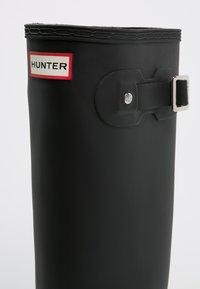 Hunter ORIGINAL - ORIGINAL TALL - Gummistøvler - black - 5