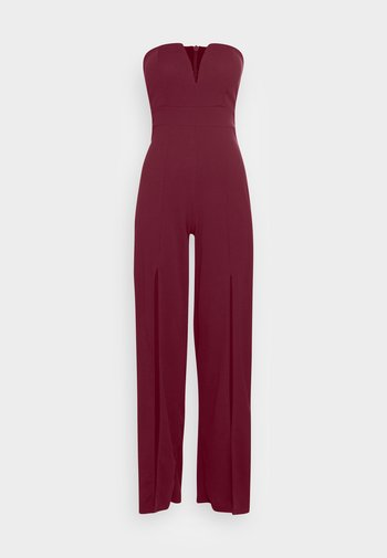 LANEY CUPPED - Jumpsuit - wine