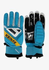 Zanier - Gloves - türkis-gelb - 0