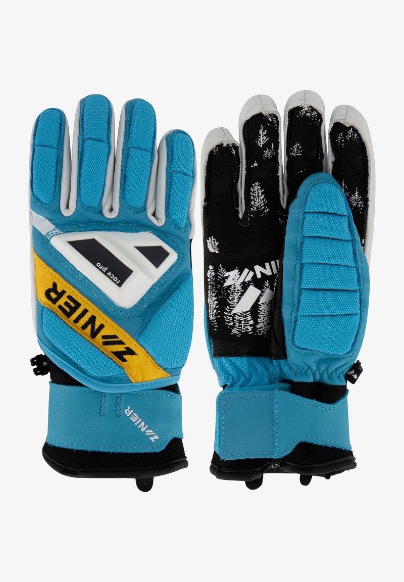 Zanier - Gloves - türkis-gelb