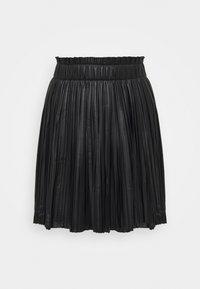 ONLMIE PLEAT SKIRT - Áčková sukně - black