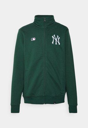 NEW YORK YANKEES CORE ISLINGTON  - Sweater met rits - dark green