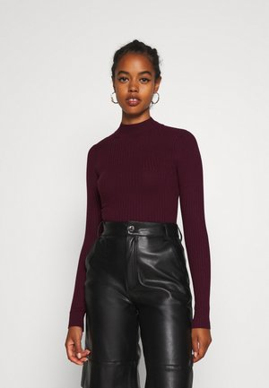 Jumper - wine red