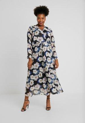 FLORAL PRINT WRAP DRESS - Day dress - multi