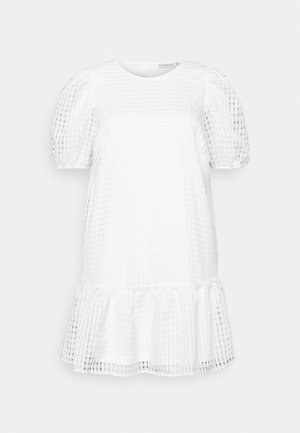 CARELANA KNEE DRESS - Day dress - white