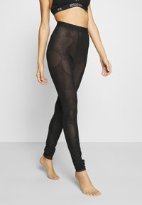 Diesel - UFLB ASRIN TROUSERS - Pyjama bottoms - black - 0