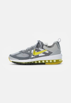 AIR MAX GENOME - Trainers - grey fog/high voltage-particle grey-white