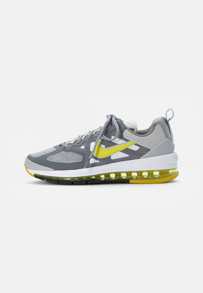 Nike Sportswear - AIR MAX GENOME - Sneakers - grey fog/high voltage-particle grey-white