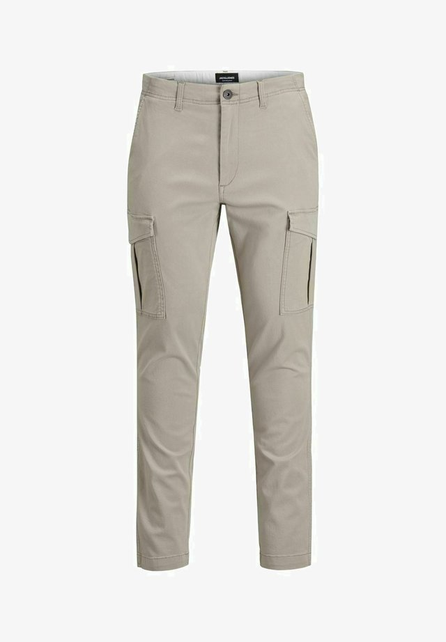 MARCO JOE AKM - Cargo trousers - crockery