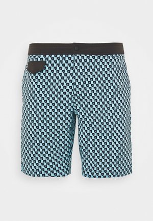 SEAWAVE PRINT POOL - Zwemshorts - blue/black