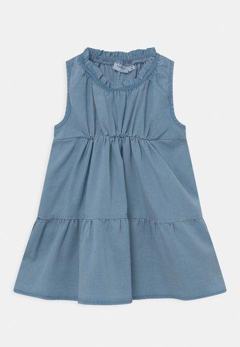 NMFBATAS  - Denim dress - light blue denim