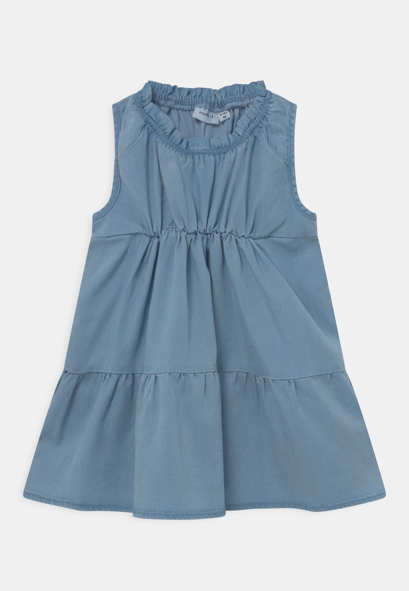 Name it - NMFBATAS  - Denim dress - light blue denim