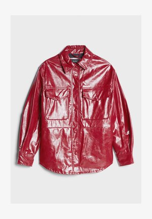 Veste en similicuir - red