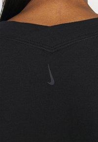 Nike Performance - OFF MAT - Sweatshirt - black/smoke grey - 4