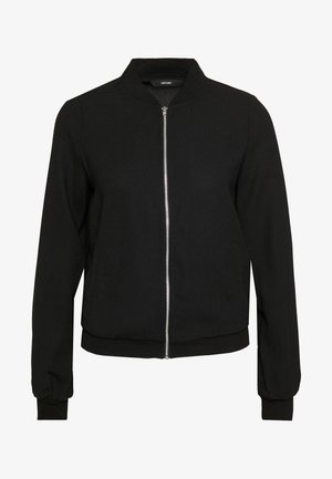 VMISABEL JACKET COLOR - Bomber bunda - black