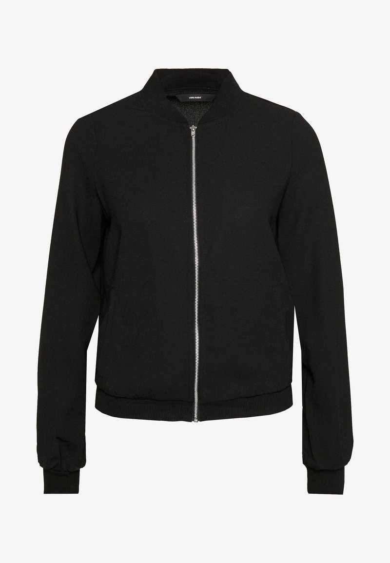 Vero Moda - VMISABEL JACKET COLOR - Bomber Jacket - black
