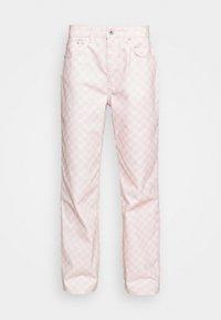 SPECTRE - Vaqueros rectos - pink/beige