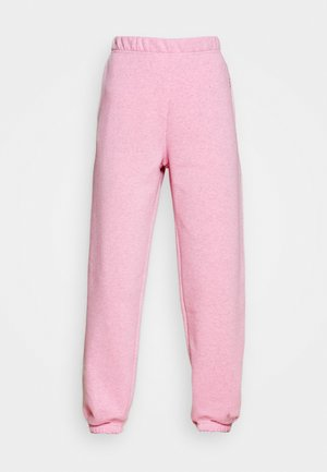 EMBROIDERED TEXT JOGGERS - Joggebukse - pink