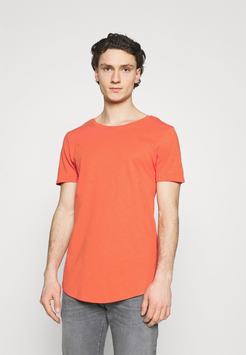 Lee - SHAPED TEE - T-shirt basic - washed red