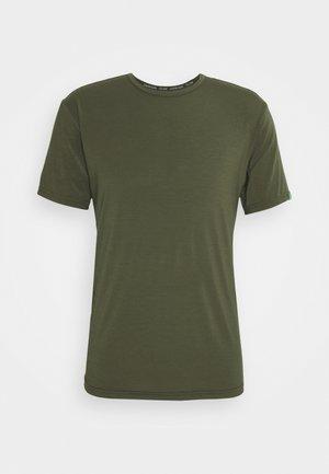 RECYCLED CREW NECK - Pyjama top - green