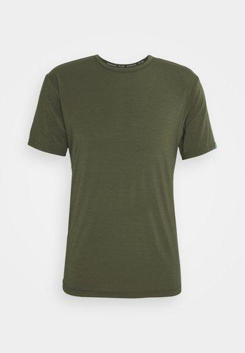 RECYCLED CREW NECK - Pyžamový top - green
