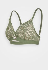 Hunkemöller - ROSE NON WIRE - Triangle bra - four leaf clover - 0