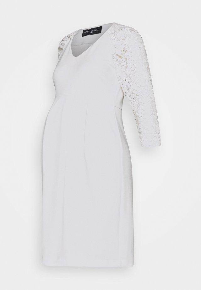 CENTRAL PARK - Korte jurk - cream white