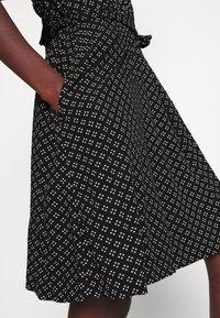 Gap Tall - TIE WAIST - Sukienka letnia - black - 5