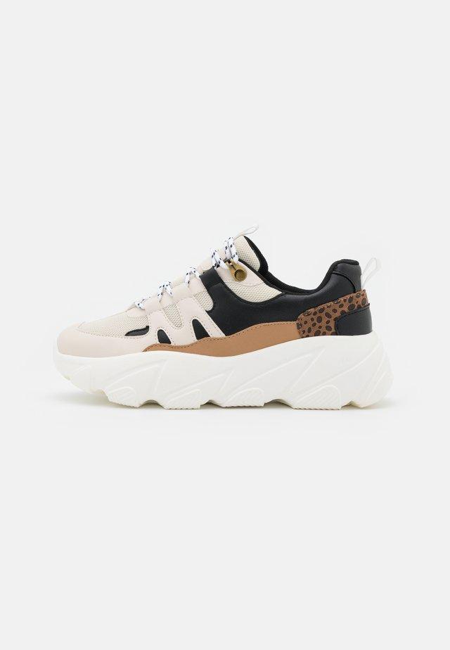Sneakers laag - black/multicolor
