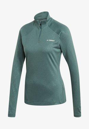 Langarmshirt - grün