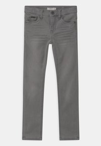 Name it - NKMTHEO  - Straight leg jeans - light grey denim - 0