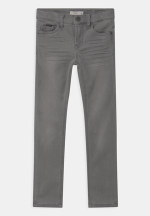 NKMTHEO  - Jeansy Straight Leg - light grey denim