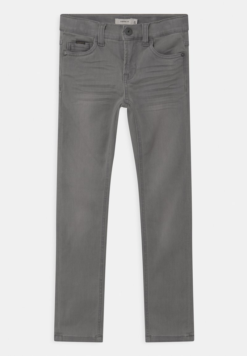 Name it - NKMTHEO  - Straight leg jeans - light grey denim