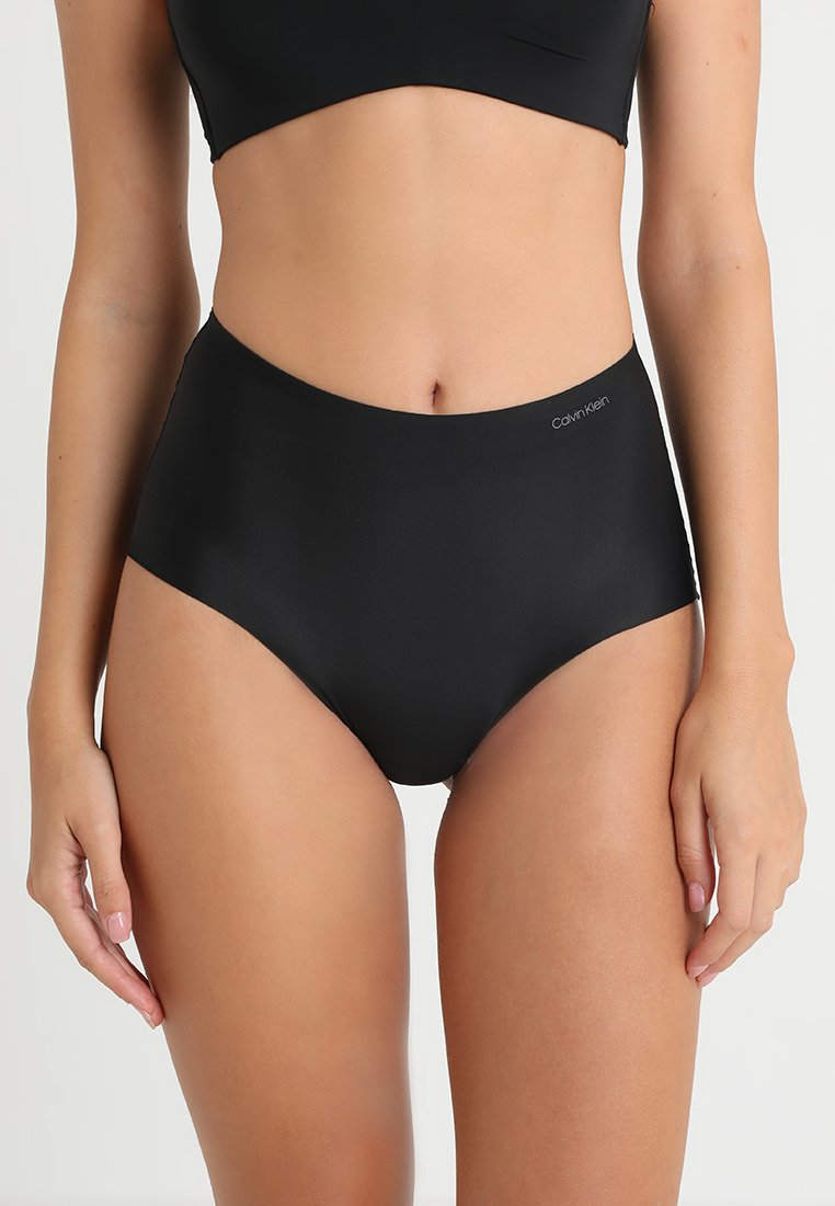 Calvin Klein Underwear - HIGH WAIST HIPSTER - Figi - black