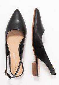 Clarks - LAINA - Slingback ballet pumps - black - 3