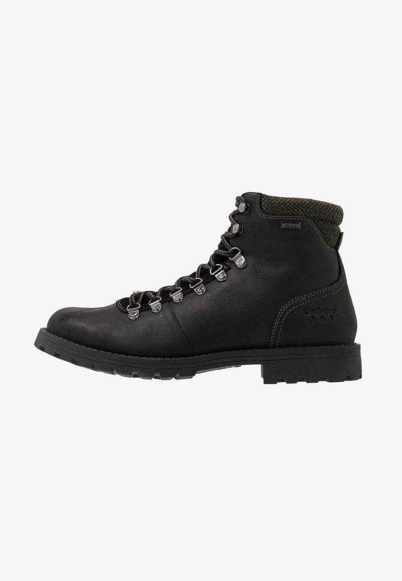 Barbour - QUANTOCK HIKER - Šněrovací kotníkové boty - black