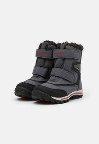 Timberland - CHILLBERG - Winter boots - medium grey/red - 1