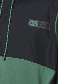Under Armour - STORM 1/2 ZIP HOODIE - Sweatshirt - black - 2