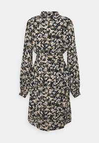 PIECES Tall - PCGERTRUDE SHIRT DRESS - Shirt dress - black - 1