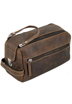 WESTCOAST - Wash bag - braun