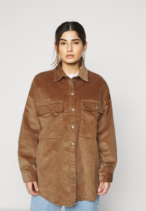 NMFLANNY SHACKET PETITE - Summer jacket - toasted coconut