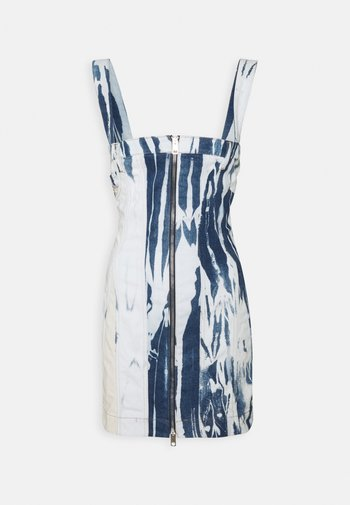 VOLCANO - Denim dress - moon washed