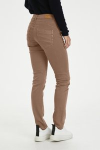 Cream - Jeans Slim Fit - brown - 1