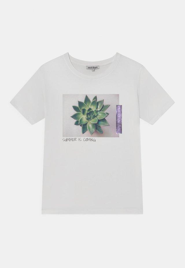 MISTY  - T-shirt print - bright white
